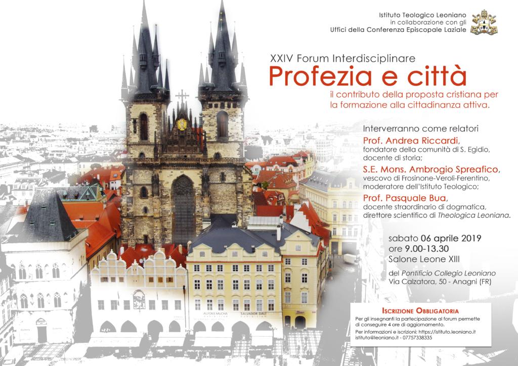 Profezia e città