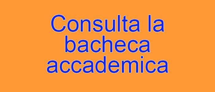 bacheca accademica